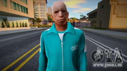 New Wmopj Casual Squid Game N002 für GTA San Andreas