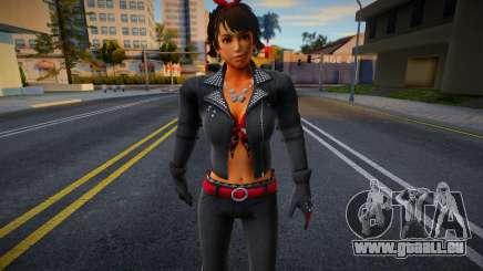 Josie Biker from Tekken pour GTA San Andreas