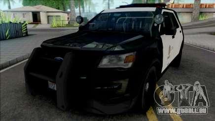 Ford Explorer 2017 LAPD für GTA San Andreas