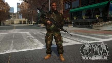 M249 SAW pour GTA 4