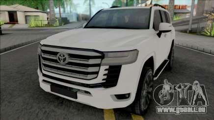 Toyota Land Cruiser 2022 für GTA San Andreas