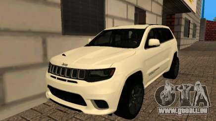 Jeep Grand Cherokee Trackhawk Supercharged für GTA San Andreas